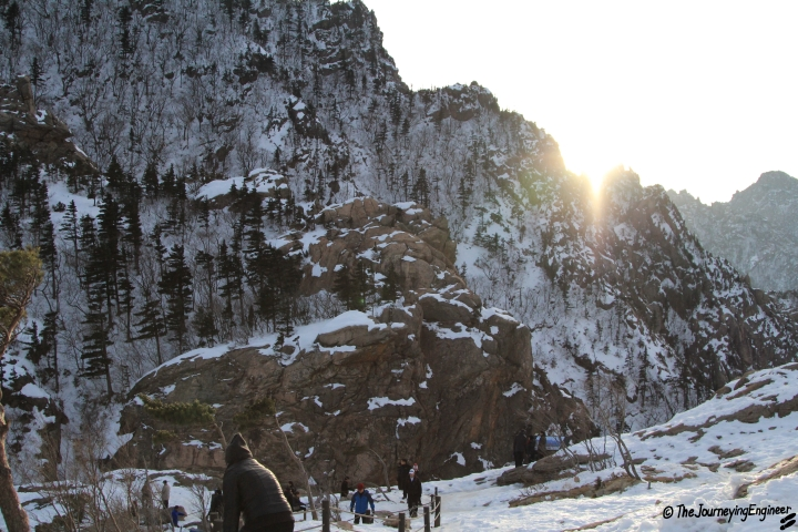 Seorak Mountain, taken by my brother