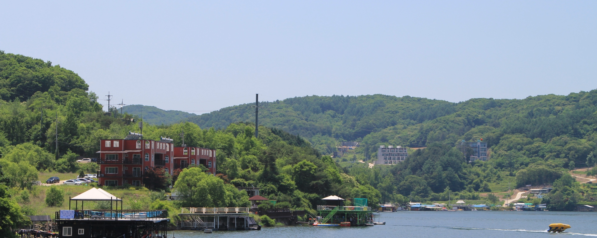 Overview of Establishments at Cheongpyeong Lake